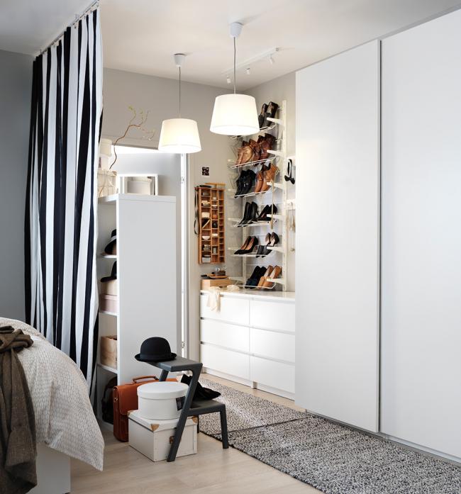 Гардеробная икеа: плюсы и минусы мебели икеа. разнообразие моделей и цветов гардеробных. фото и видео-обзоры основных коллекций от дизайнеров