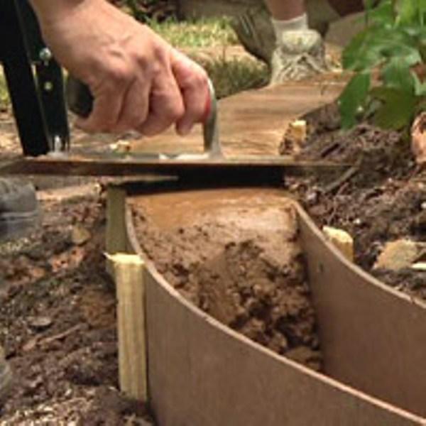 Камень бордюрный садовый: разновидности, тонкости выбора и цены