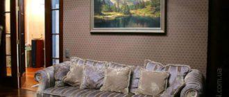 Как оформить стену в гостиной над диваном: 15 красивых идей