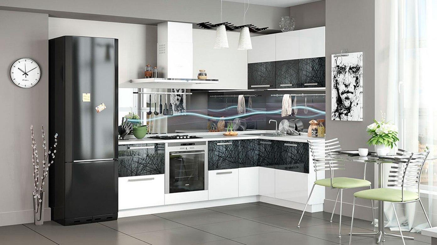 параллельная кухня фото