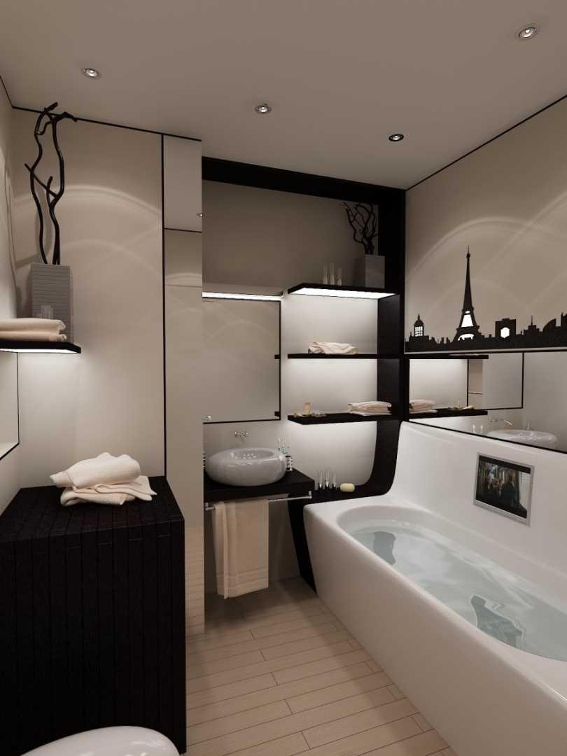 ванная комната в частном доме дизайн фото