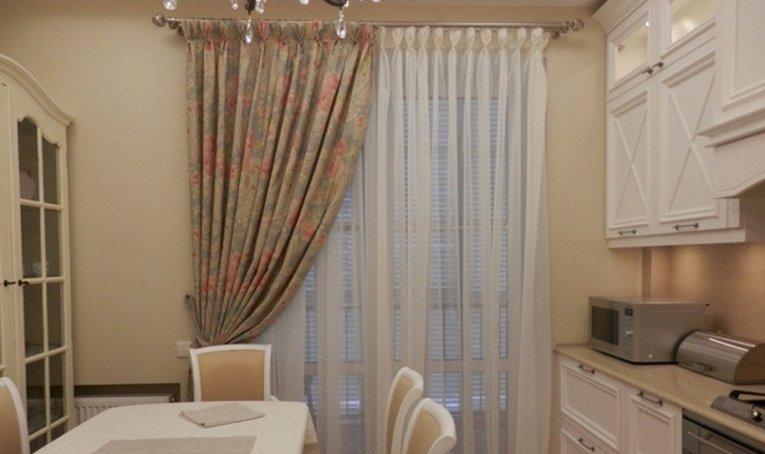 кухонные шторы короткие