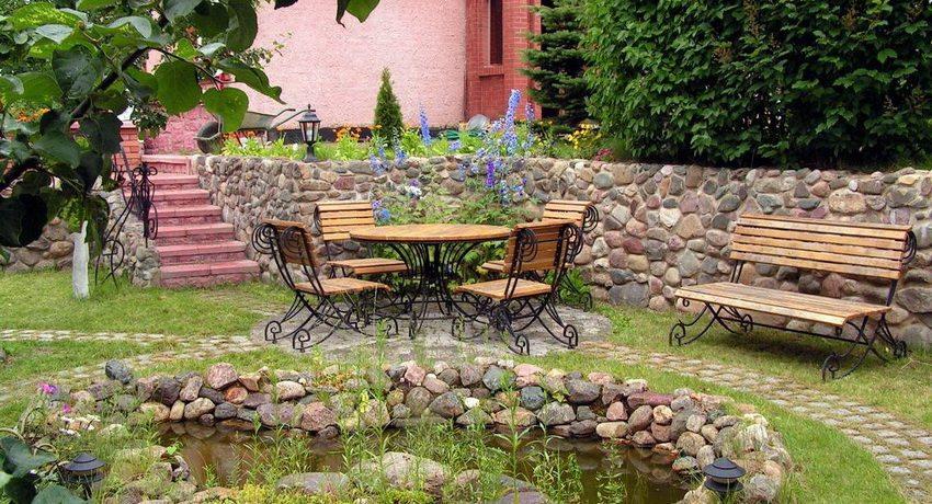 Патио на даче или в саду: дизайн с фото | дом мечты