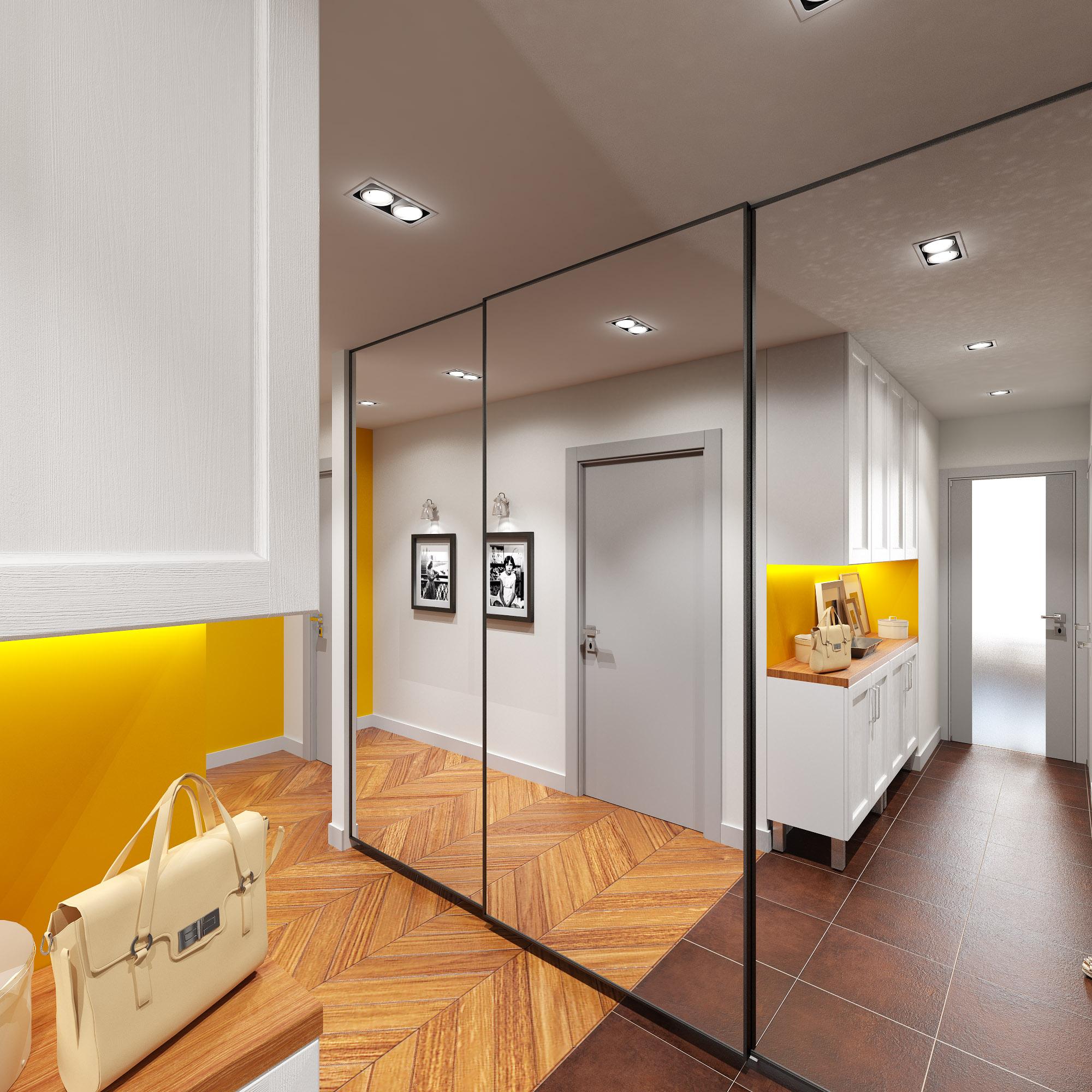 Потолочные светильники в прихожую (33 фото): модные коричневые модели 2020 для коридора