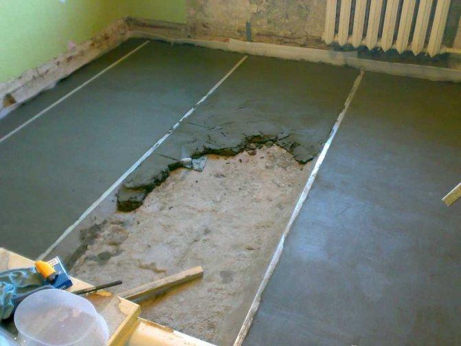 Тонкости домашнего ремонта: как выровнять пол в квартире своими руками?