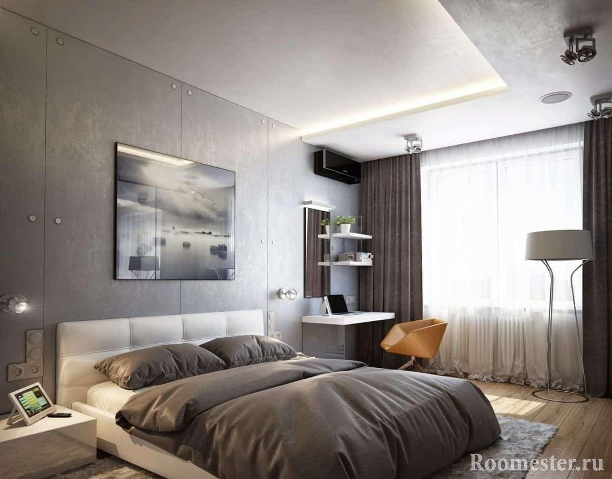 спальня 13 кв м