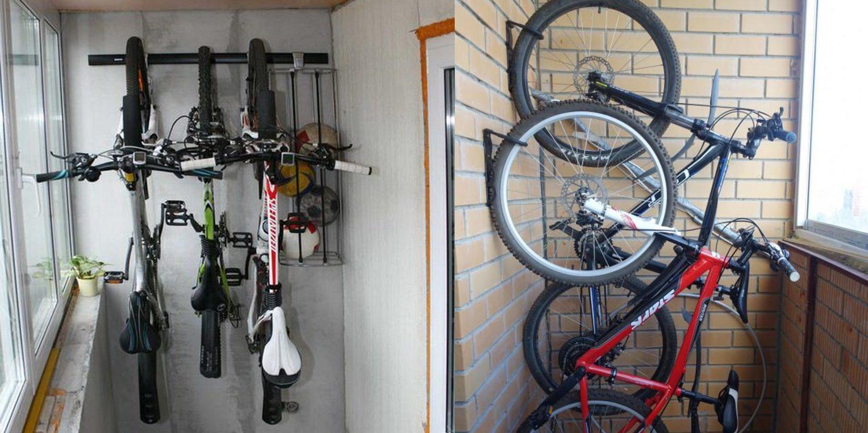 Как закрепить велосипед на стену своими руками