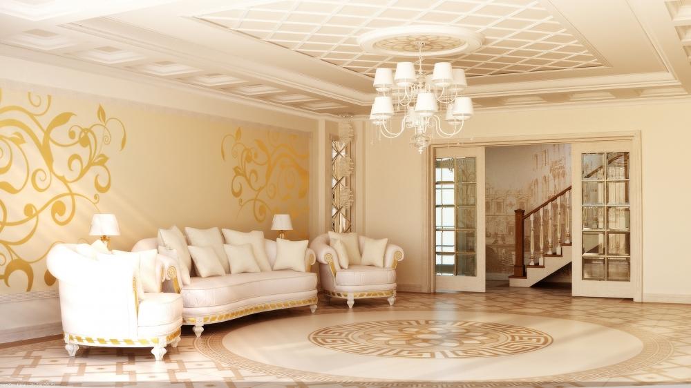 Современные потолочные люстры в зал - виды и фото вариантов