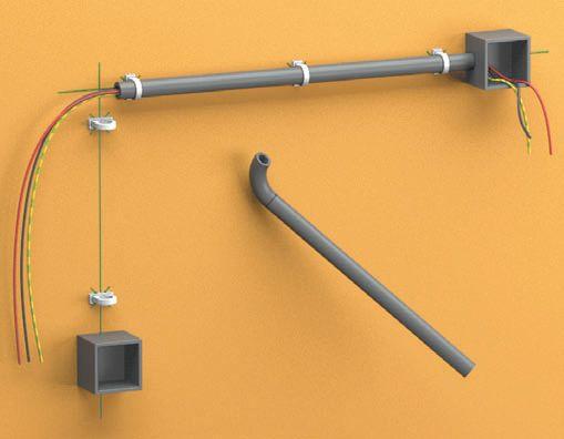 Прокладка кабеля в гофре: правила и основные ошибки.