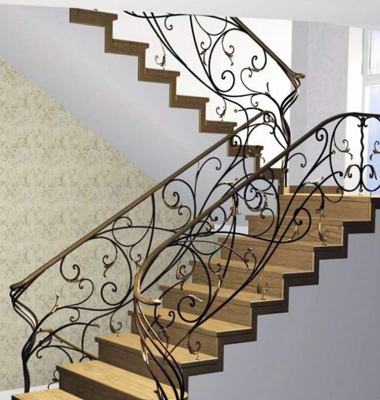 ограждения для лестниц в частном доме