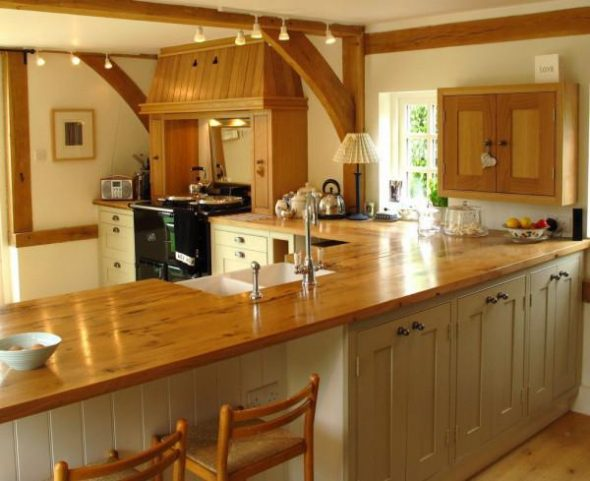 Столешница под дерево для кухни: какую выбрать, отзывы владельцев
