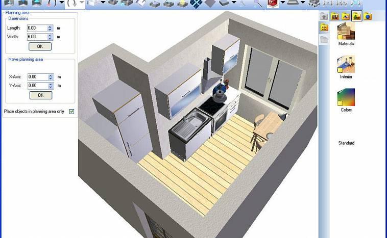 планировка квартиры с размерами