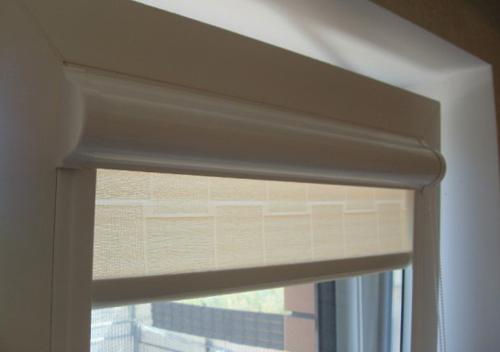 Римские шторы на пластиковые окна: виды креплений