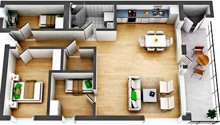 второй этаж в частном доме планировка