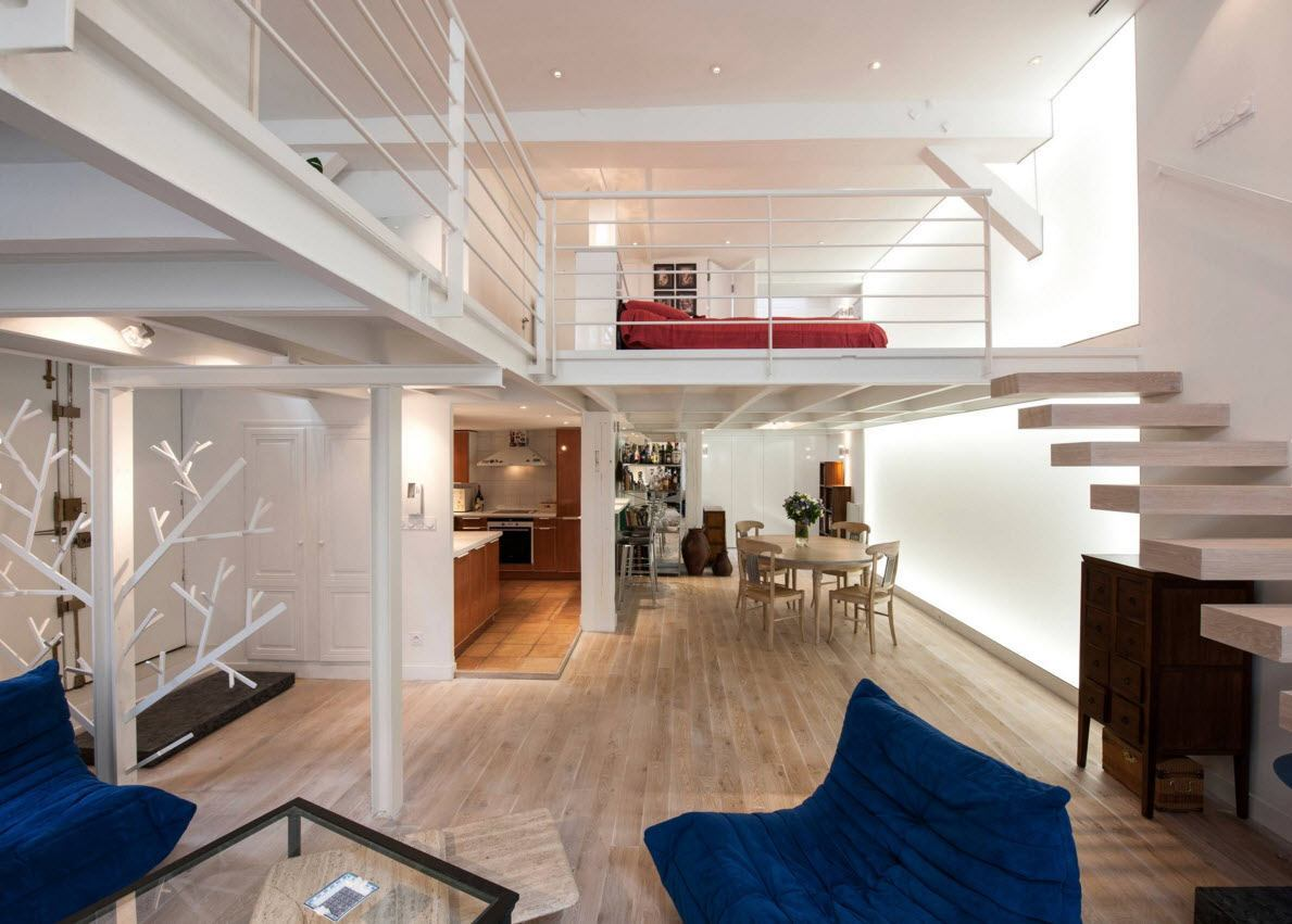 Примеры дизайна второго этажа в частном доме