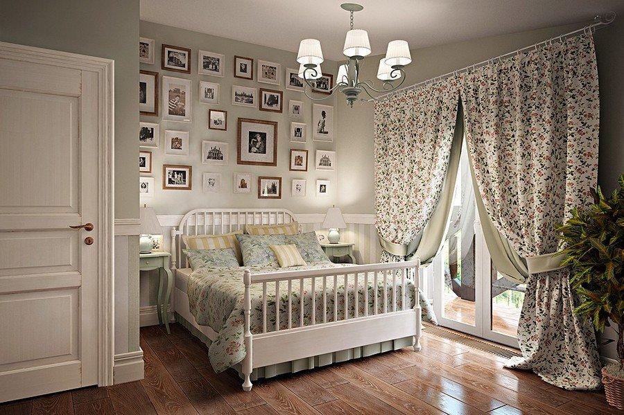 Шторы в стиле прованс - 105 фото применения в разных помещениях