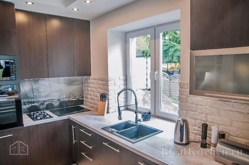 Проекты кухонь с размерами: фото, правила замера кухни
