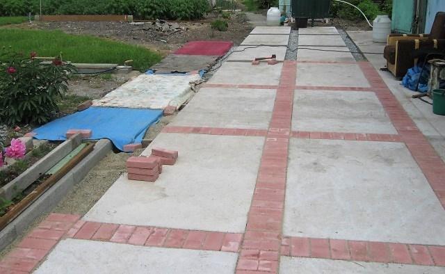 Как правильно залить двор бетоном своими руками