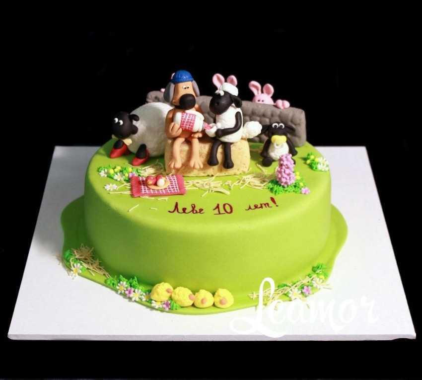 простое украшение торта в домашних условиях