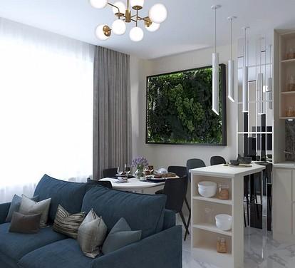 Вертикальный сад в квартире - те же живые стены из растений