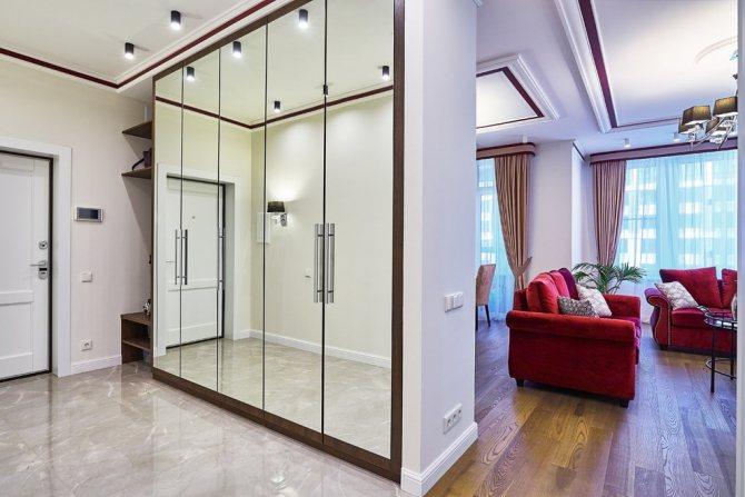 Зонирование комнаты 17 кв м способы разделения пространства