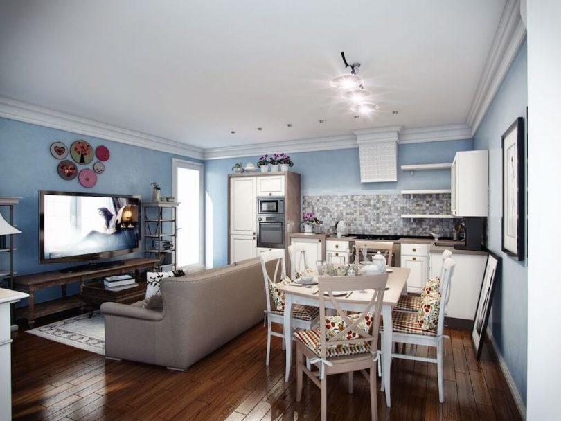 интерьер кухни в квартире фото