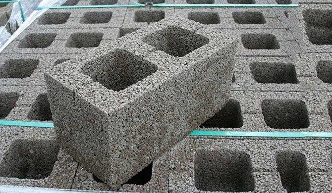 Технология изготовления керамзитобетонных блоков