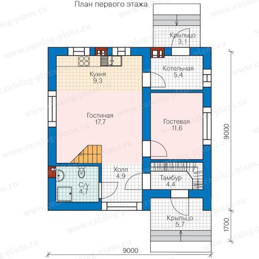 Барнхаус (106 фото): проекты одноэтажных и в 2 этажа домов из газобетона, каркасных и из сип-панелей, планировка и примеры интерьера