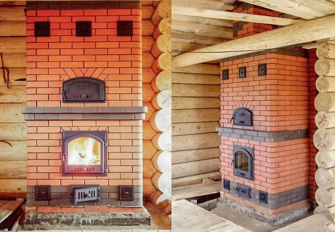 Чем и как покрасить печь из кирпича: термостойкая краска