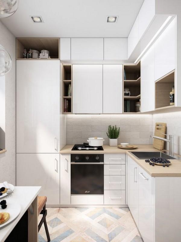 Кухни 3 на 4 метра: дизайн, идеи планировки, фото готовых интерьеров