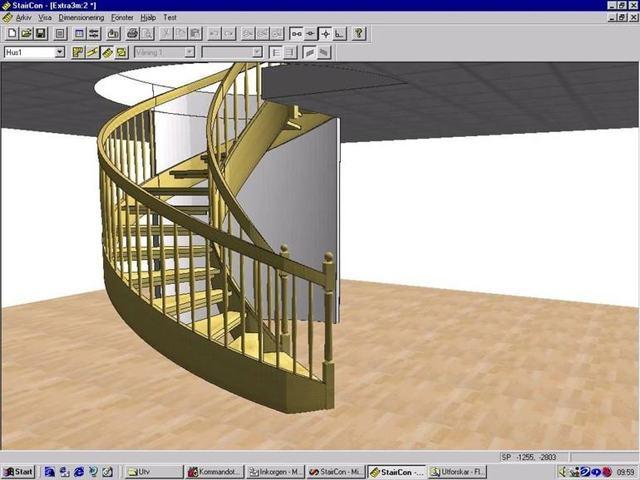 конструктор лестницы онлайн