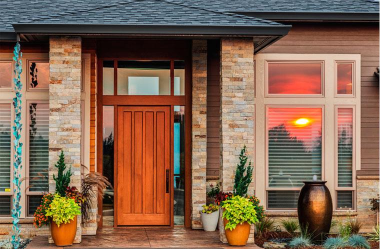 Стандартные размеры проема под входную металлическую дверь