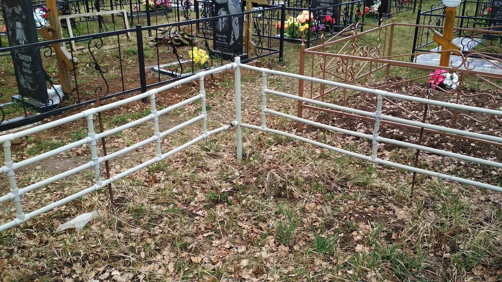 Оградка на могилу своими руками: виды и способы изготовления. надгробие из металла на могилу своими руками