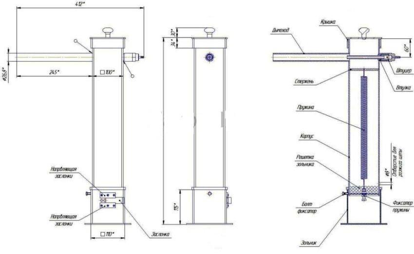Инструкция по сборке дымогенератора для холодного копчения