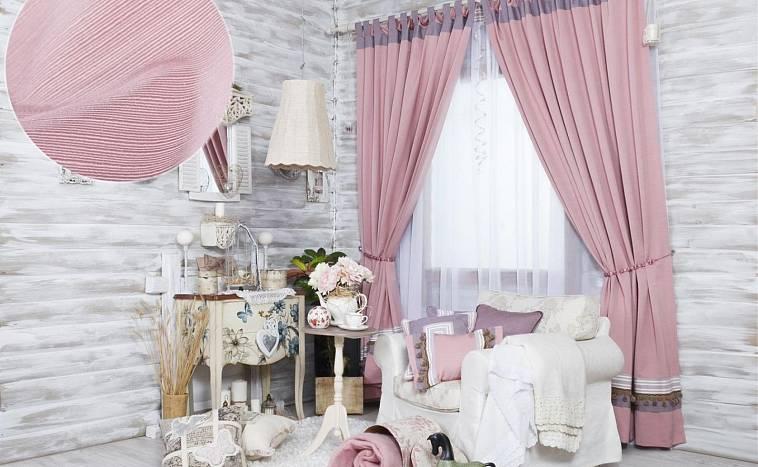 шторы в спальню на петлях