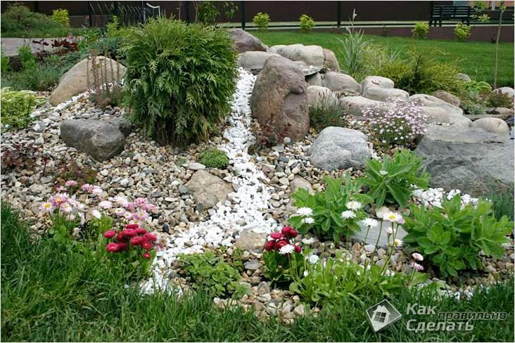 Альпинарий (альпийская горка) и рокарий в саду: фото видов альпийских горок и их устройство