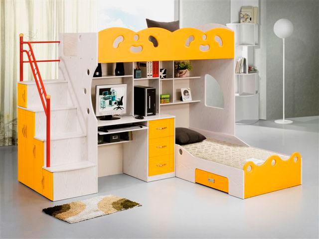 Кровать-чердак для взрослых (46 фото): двуспальные модели с рабочей зоной внизу, большие двухъярусные модели для двоих, примеры в интер…