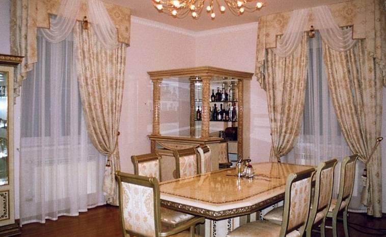 шторы задергушки на кухню фото