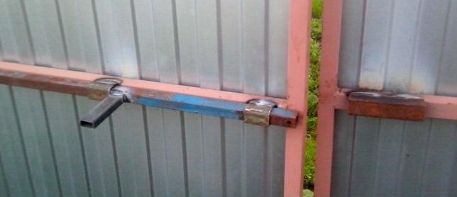 Запор на калитку своими руками - всё о воротах и заборе