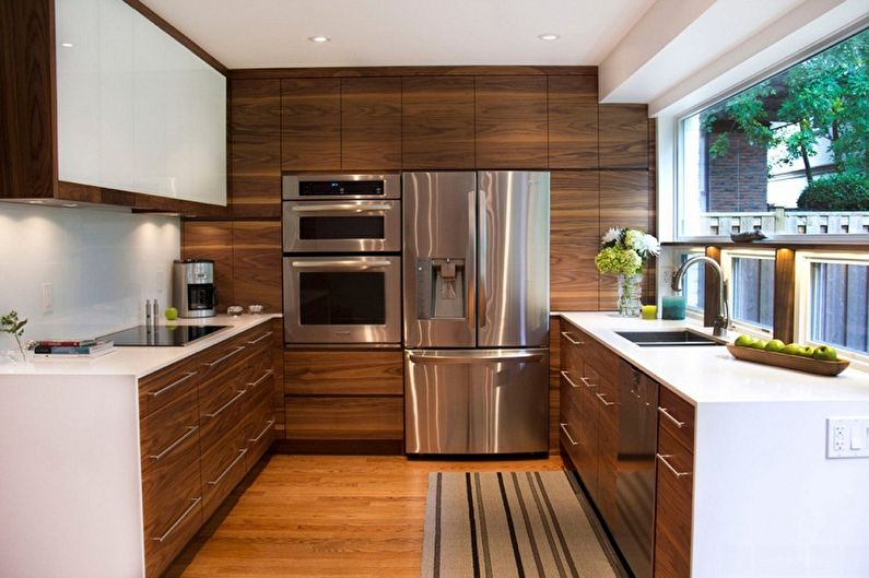 Дизайн кухни в частном доме 2017 – 56 фото и идеи интерьера кухни | the architect