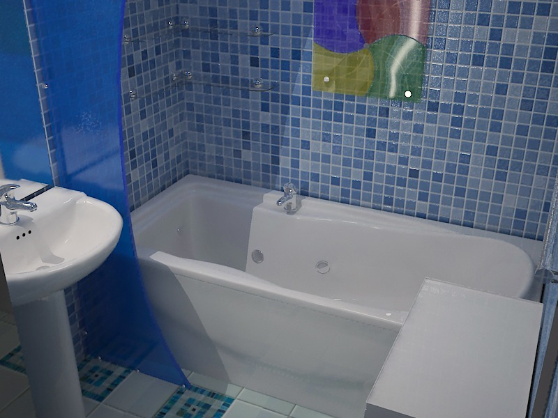 Панели под кафель для ванной, туалета, кухни