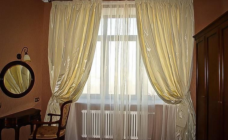 шторы в современном интерьере