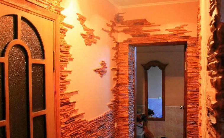 стены в коридоре варианты отделки