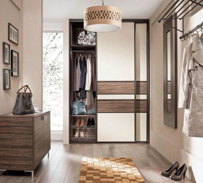 Гардеробная в прихожей: 15 самых интересных вариантов дизайна, виды и материал, внутреннее наполнение шкафа