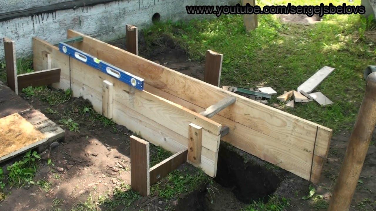 Фундамент для веранды к дому своими руками пошаговая инструкция - строим сами