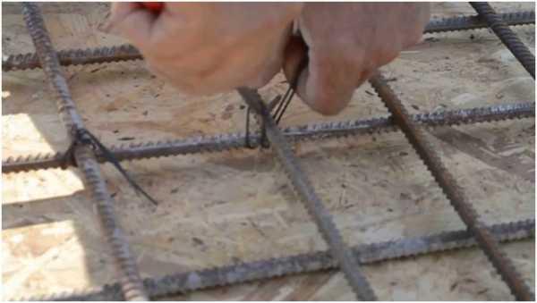 Как армировать монолитный плитный фундамент