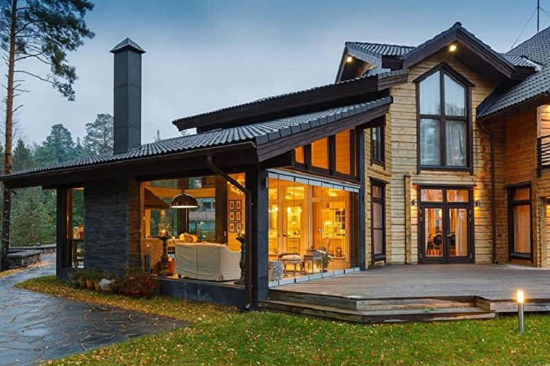 Проекты домов в стиле шале цены под ключ, проекты в москве