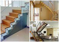 Деревянная лестница на металлическом каркасе - всё о лестницах