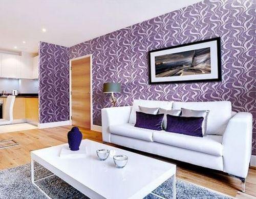 Стены фиолетового цвета: 95 фото вариантов интерьера и красивых оттенков фиолетового