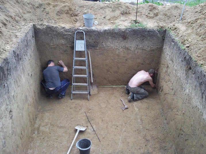 устройство погреба для хранения овощей
